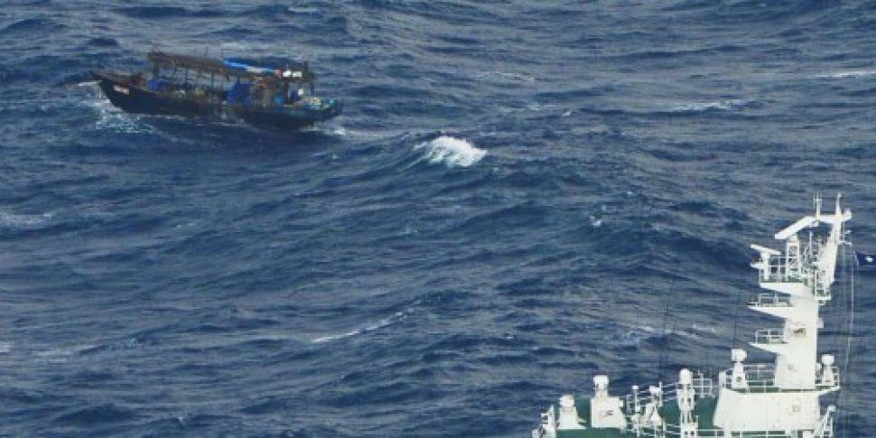 Boat 'carrying 10 North Ko...