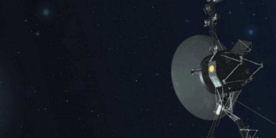 WATCH: Voyager 1 spacecraft fi...