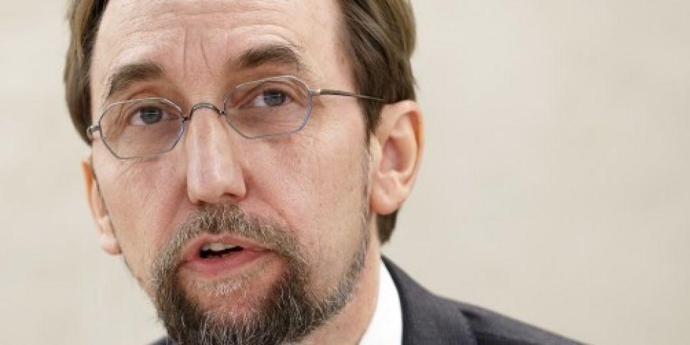 UN human rights chief warns &#...
