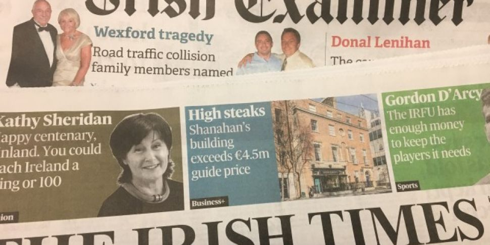 Irish Times agrees to acquire...