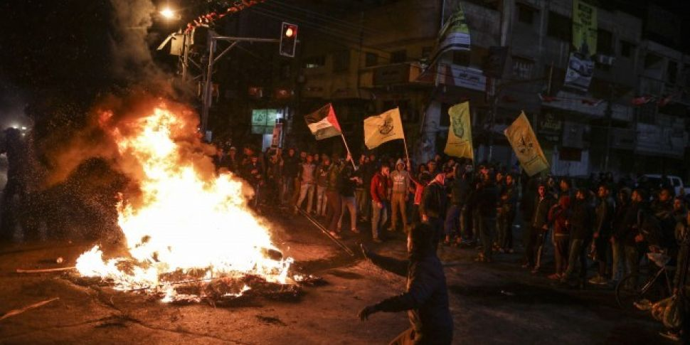 Israeli military opens fire as...