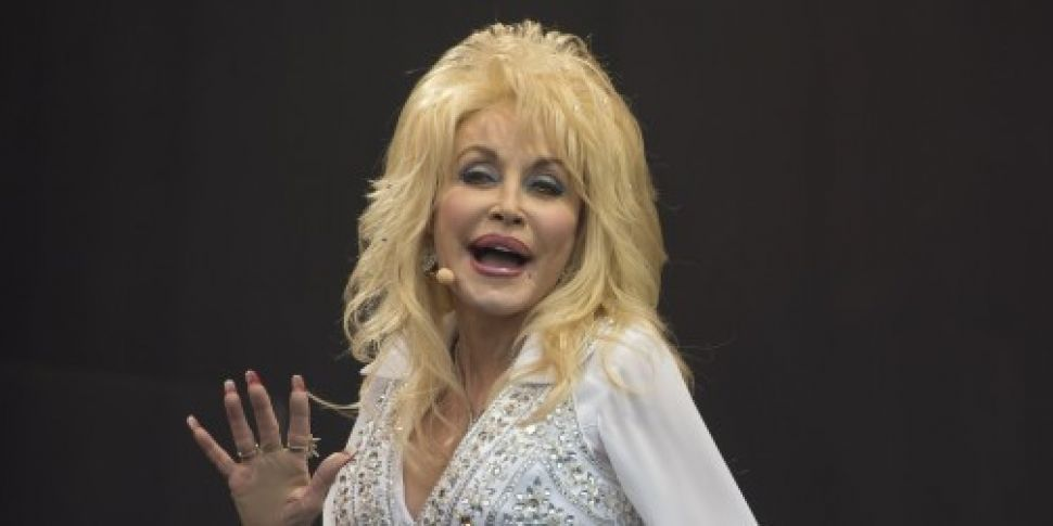 WATCH: Dolly Parton launches c...