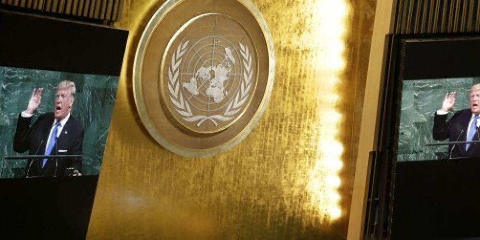 Donald Trump tells UN that &#3...