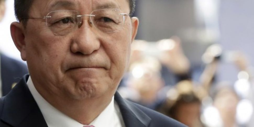 North Korean minister accuses...