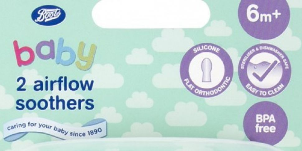 Boots recalls baby soothers ov...