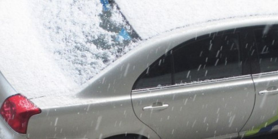 Hailstone warning issued to dr...