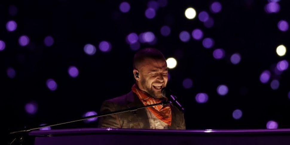 Justin Timberlake pays tribute...