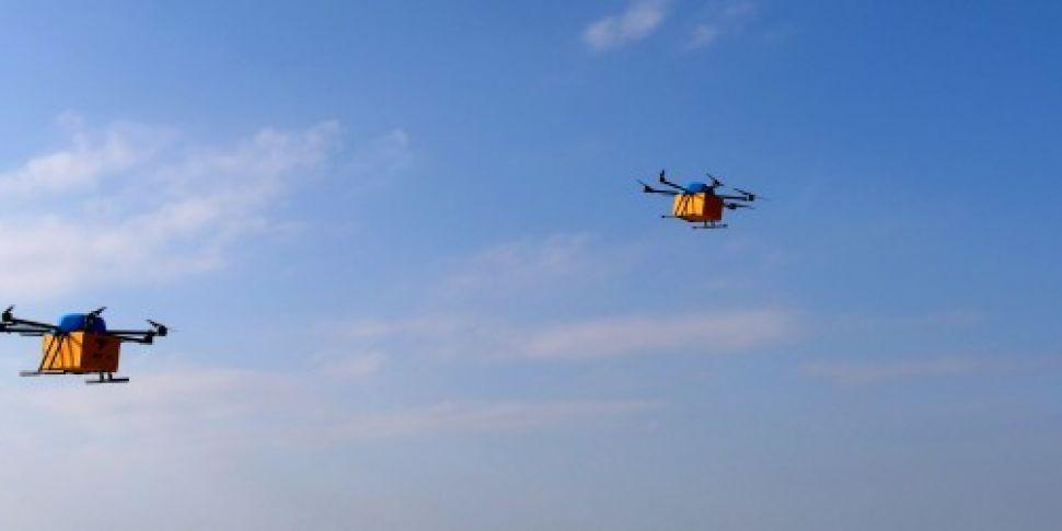 'Carefully' using dron...