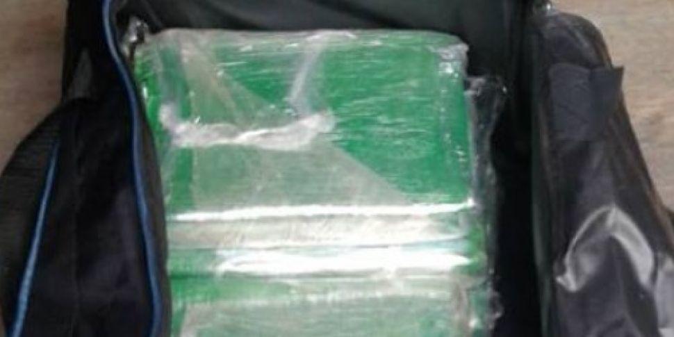 Cocaine worth €500,000 seized...