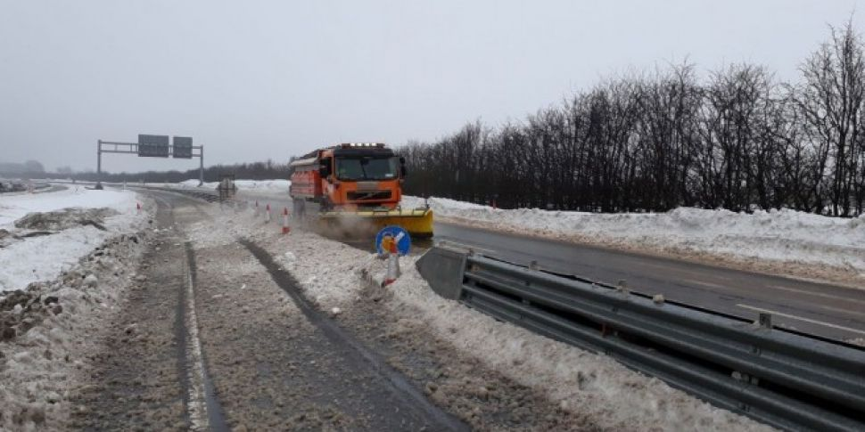 Many roads remain hazardous as...