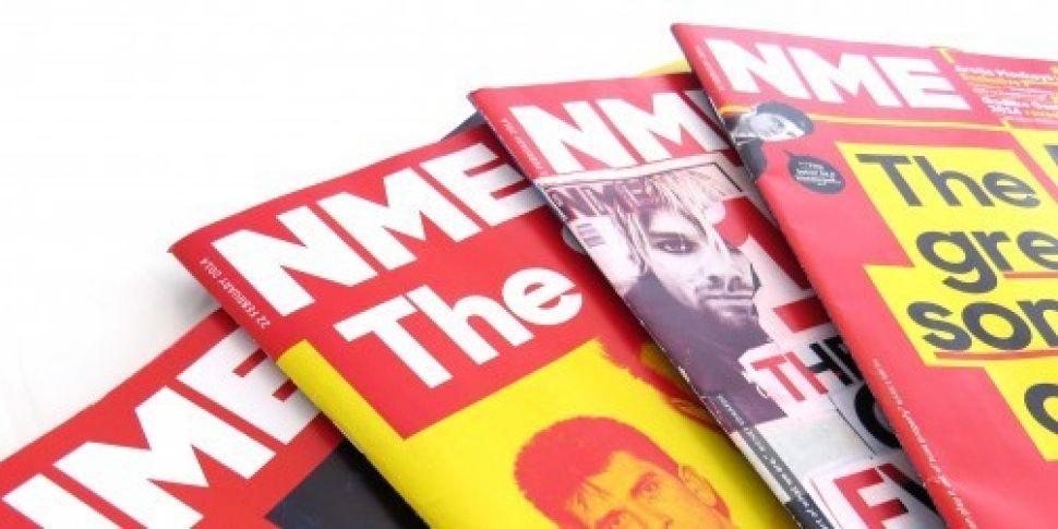 Music magazine NME to abandon...