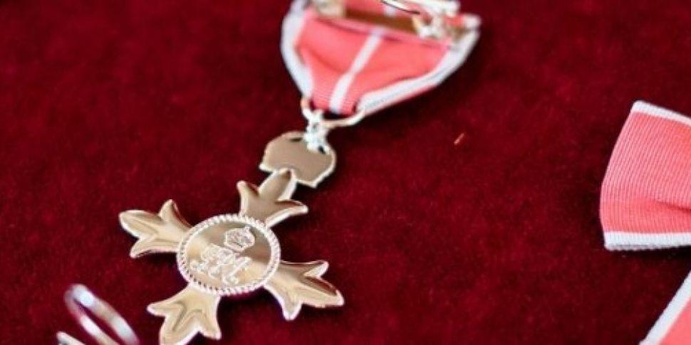 OBE award among items stolen d...