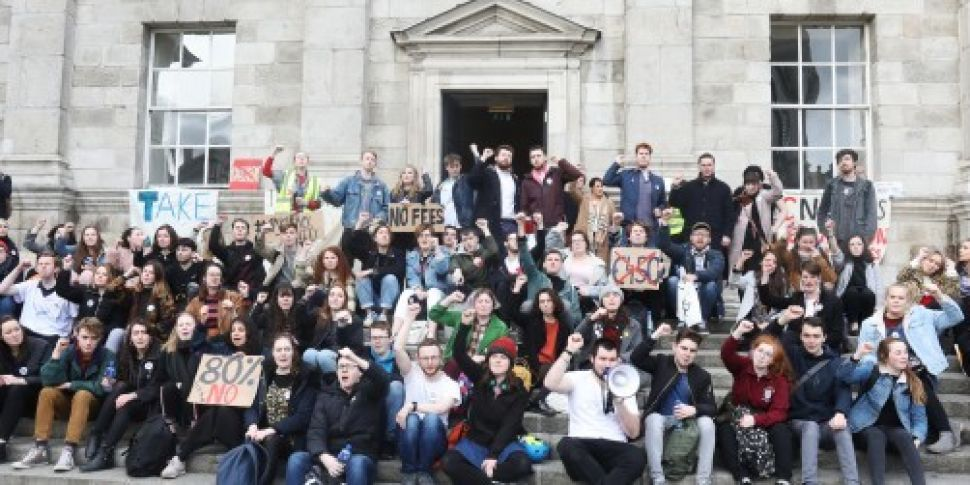 Trinity College protesters &#3...