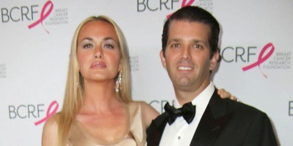 Donald Trump Jr and his wife V...