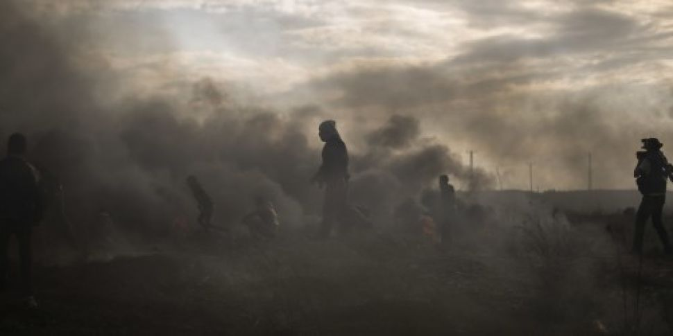 Palestinians killed during fre...