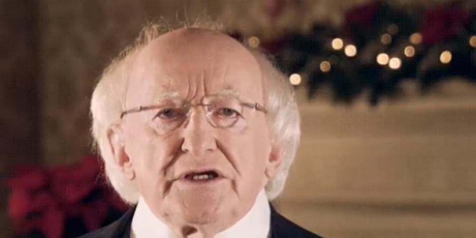 WATCH: President Higgins highl...