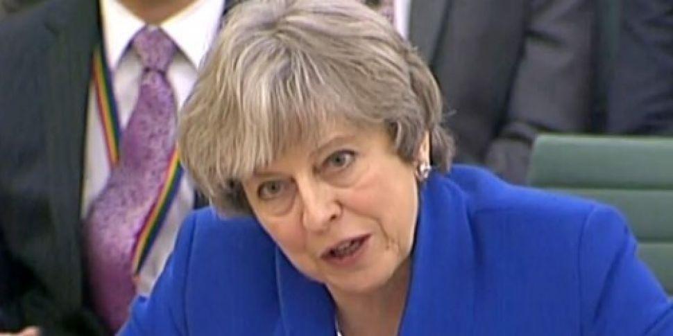 Theresa May suggests UK MPs Br...