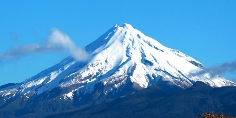 New Zealand mountain is grante...