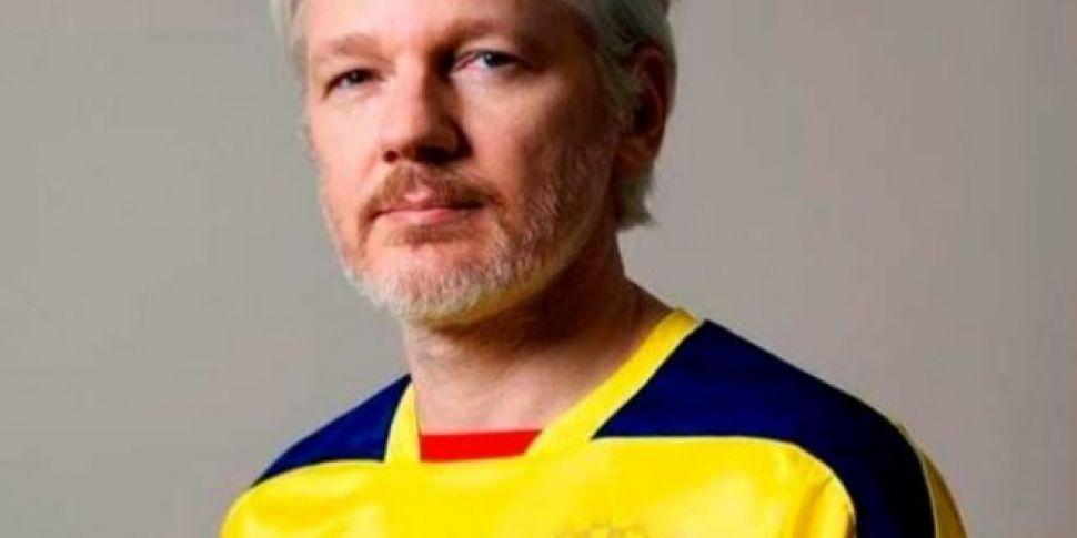 Wikileaks founder Julian Assan...