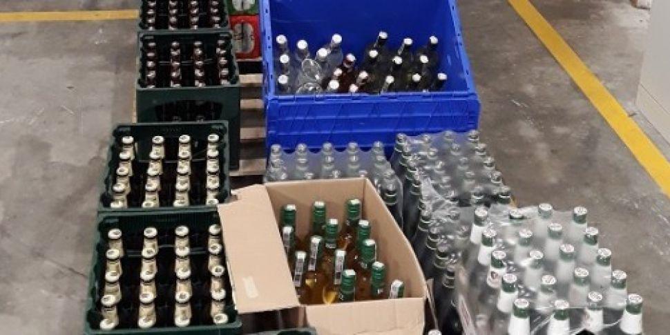 Contraband alcohol, medicines...