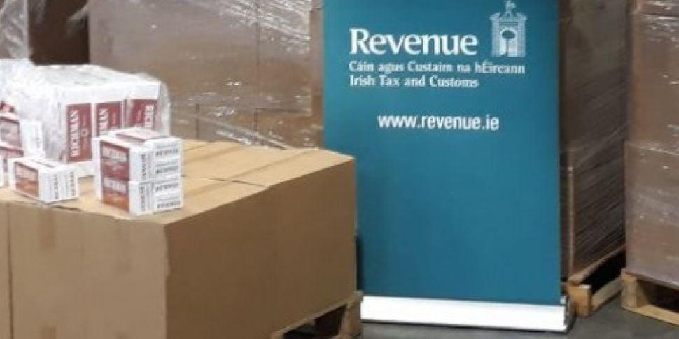 Smuggled cigarettes worth €1 m...