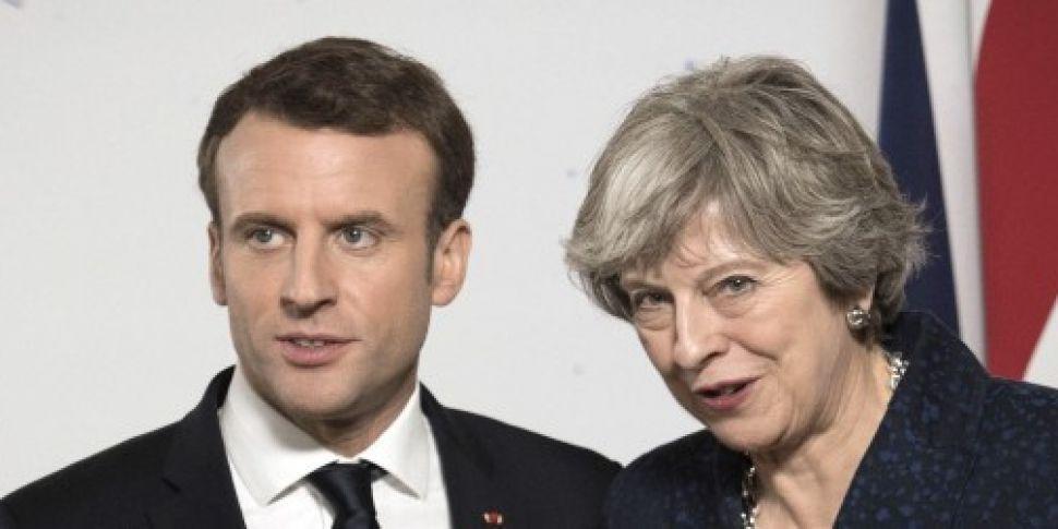 Emmanuel Macron says UK could...