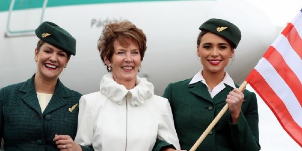 Aer Lingus marks 60th annivers...
