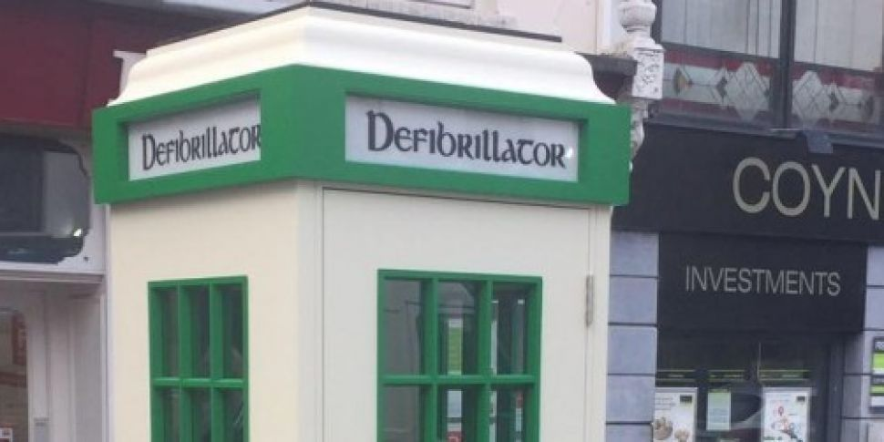Group hoping to fit defibrilla...