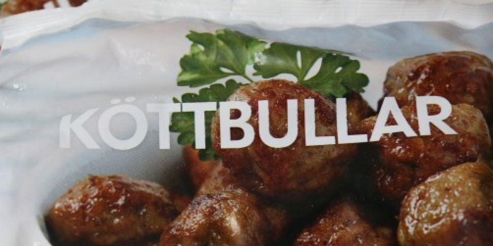 Sweden admits Swedish meatball...
