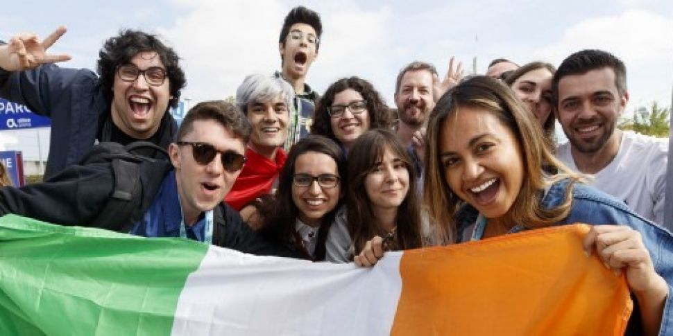 WATCH: Eurovision fans gear up...
