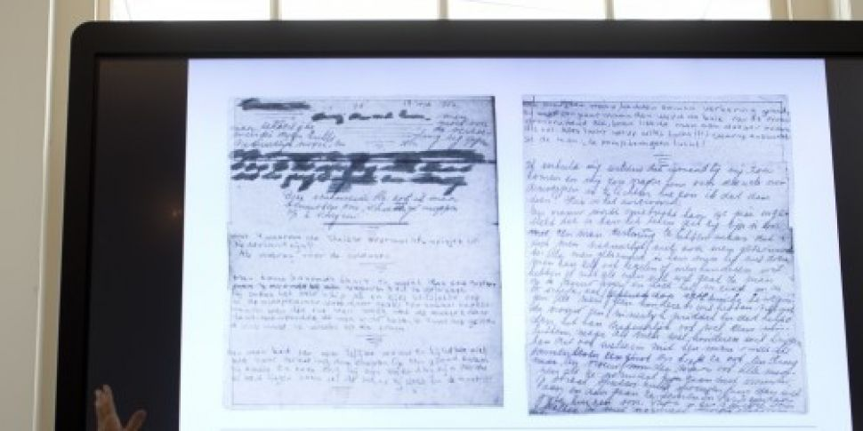 Hidden pages from Anne Frank&#...