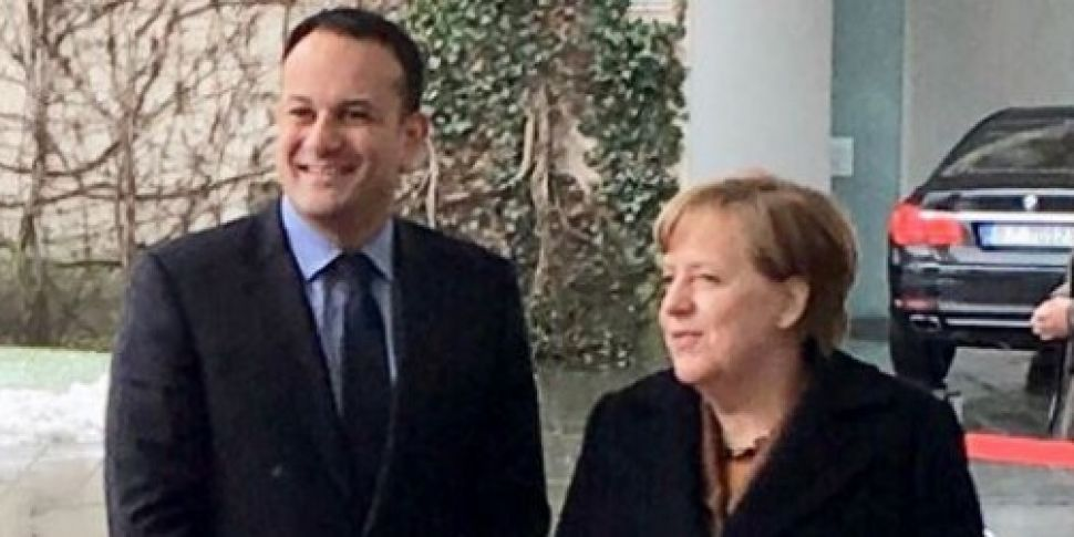 Varadkar meets German Chancell...