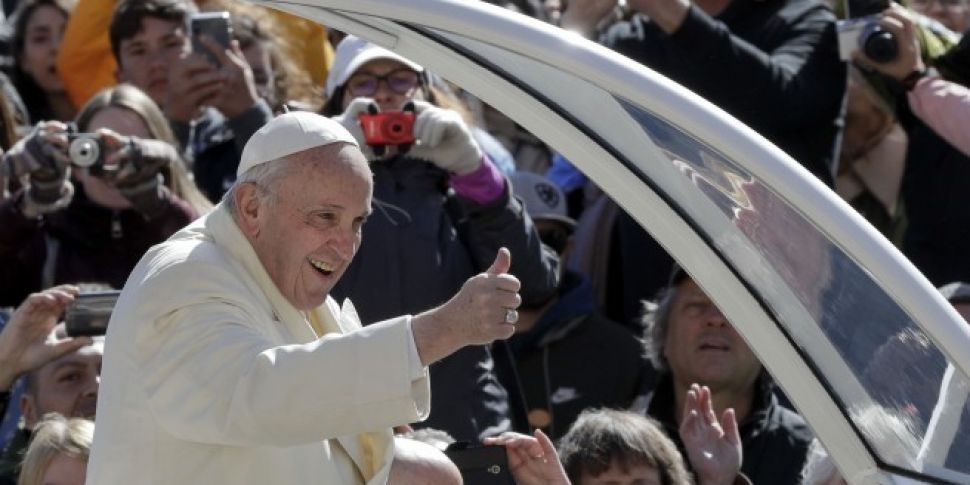 Pope Francis to celebrate mass...