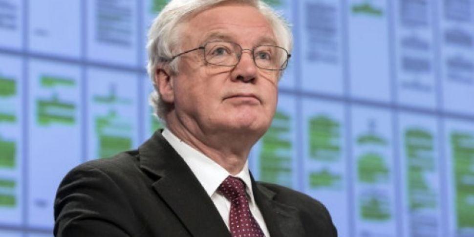 Davis says UK will not accept...