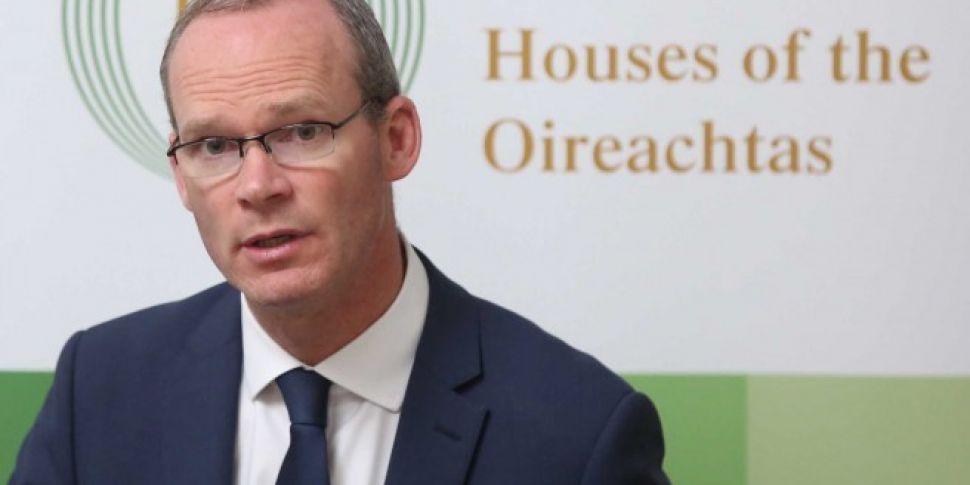 Simon Coveney denies abortion...