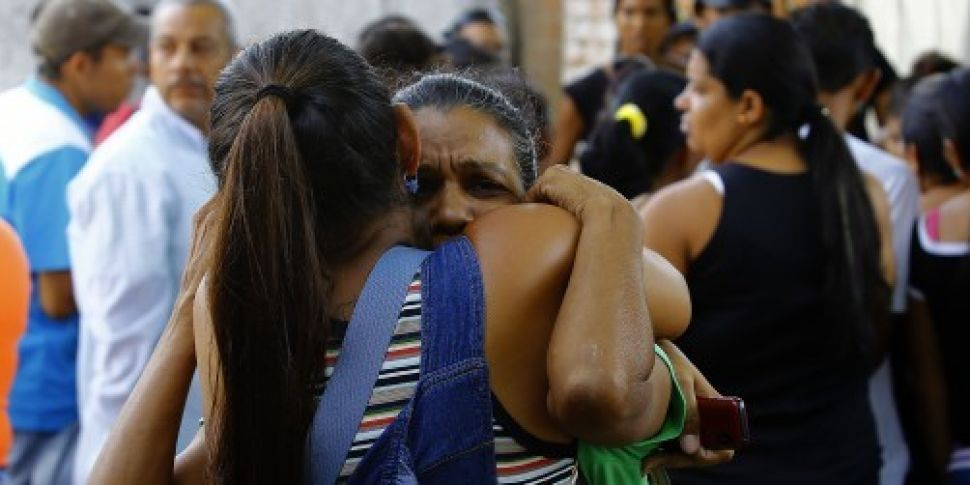 Families tear-gassed as 68 pri...