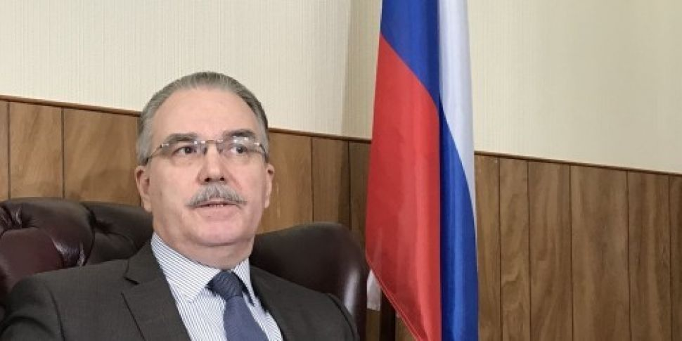 Russian ambassador says diplom...
