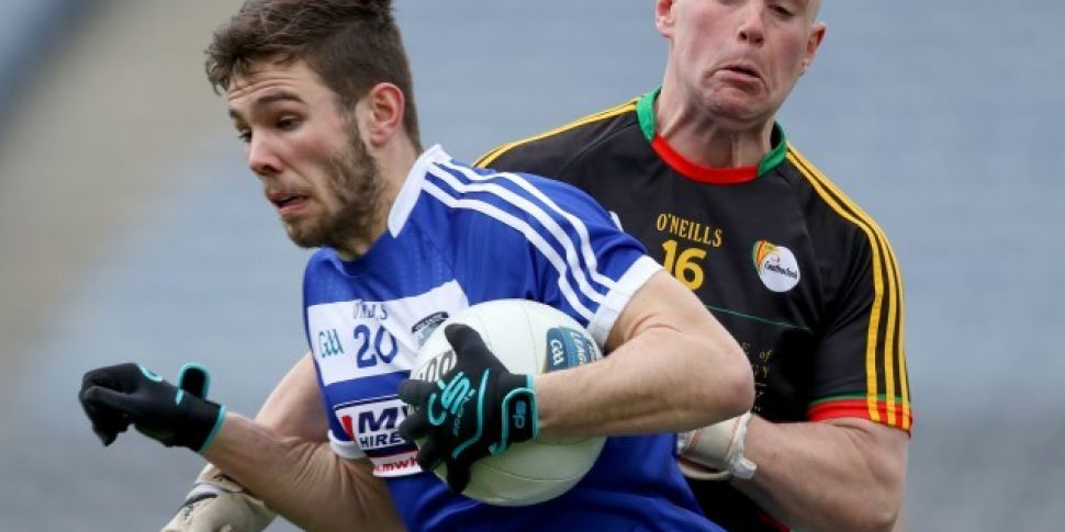 Laois footballer in serious co...