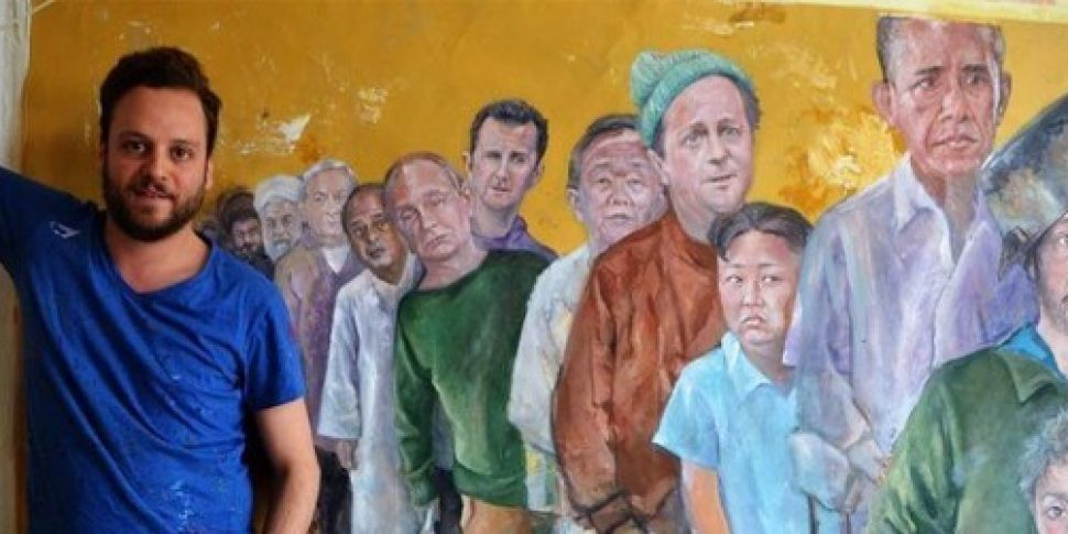 PICTURES: Syrian artist depict...