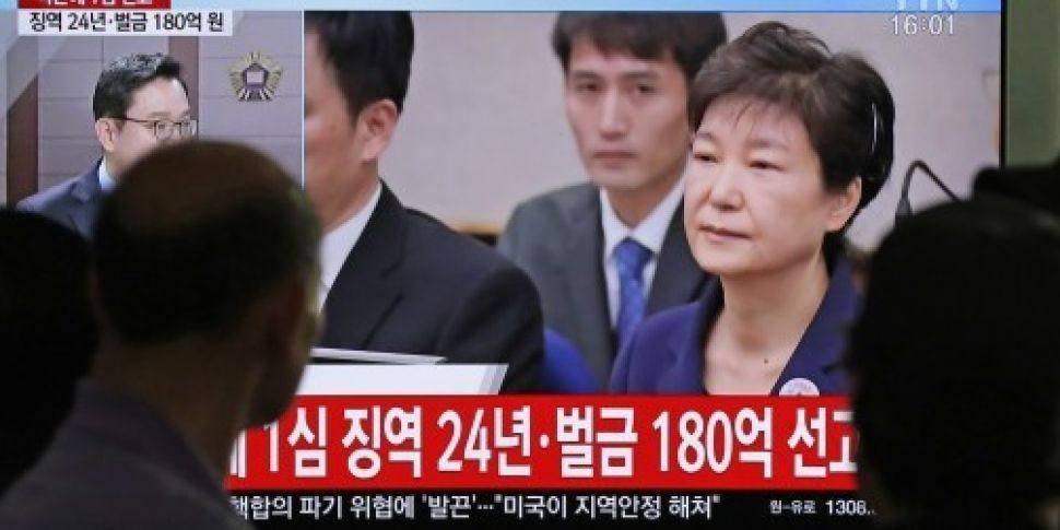 Former South Korean president...