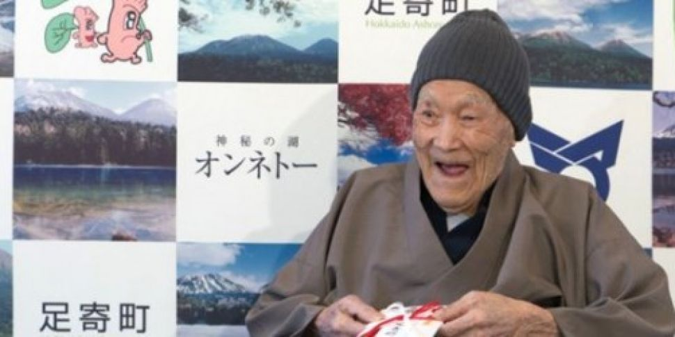 PICTURES: 112-year-old Masazo...