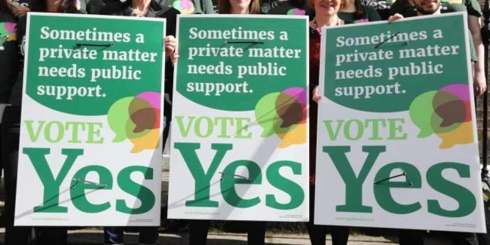 Together For Yes funding page...