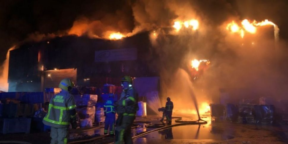 Firefighters continue to tackl...