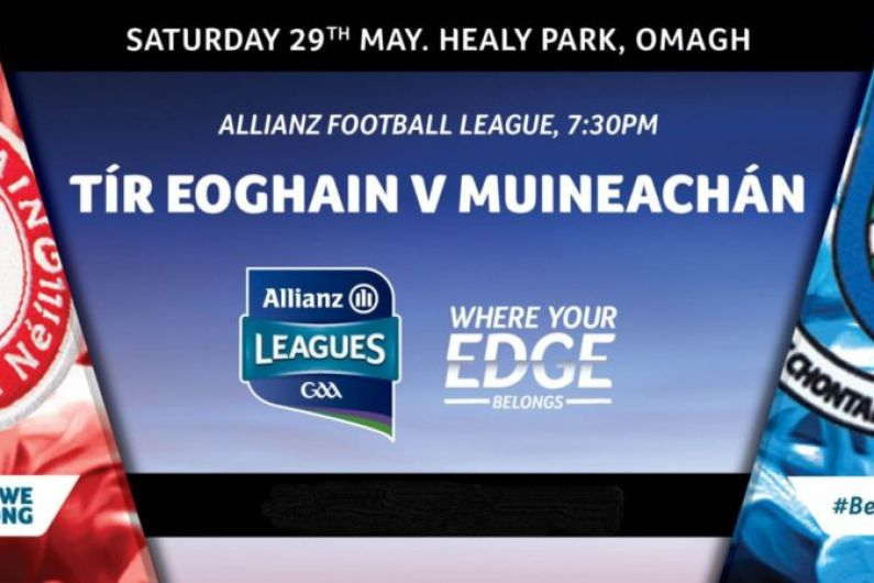 Monaghan make one change to their team to face Tyrone