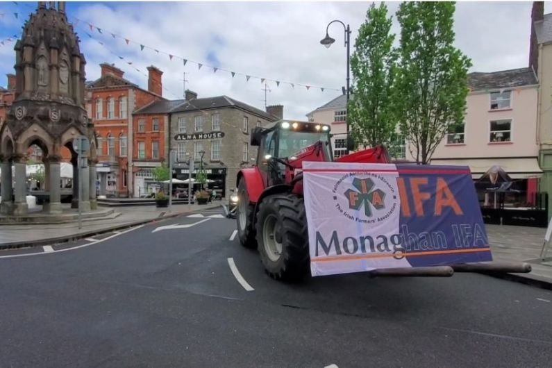 Local IFA members demonstrate over EU CAP reform proposals and climate action plans