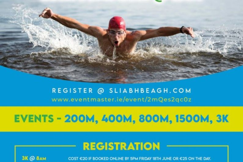 Sliabh Beagh swimming club going with the flow