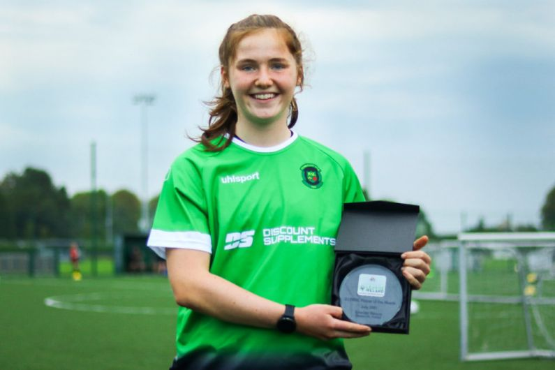 Monaghan lady named U17 player of the month.