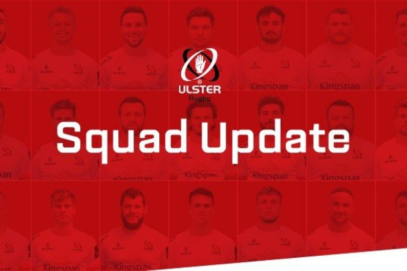 Injury woes for Ulster