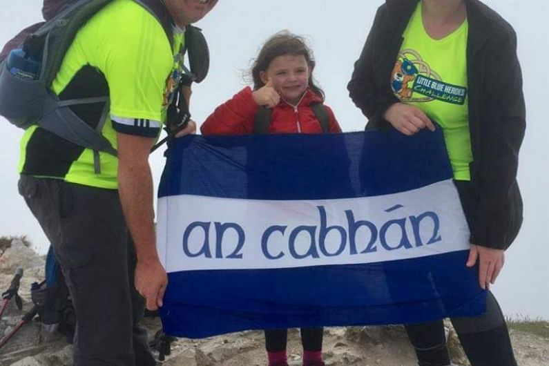 6 year old from Cavan diagnosed with arthritis climbs Errigal for charity