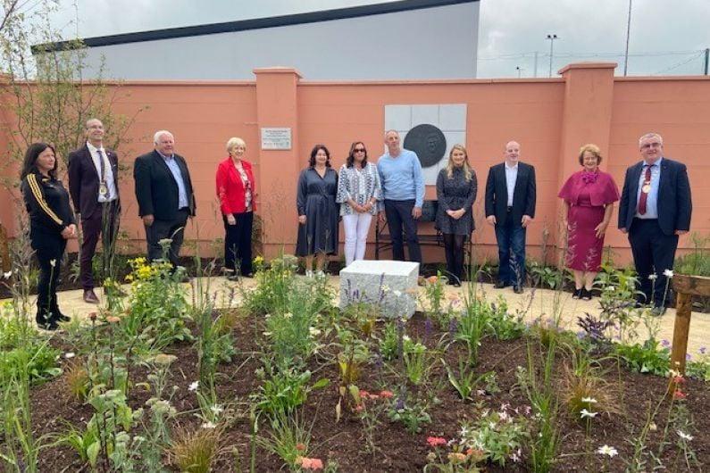 Big Tom Memorial Garden officially opened